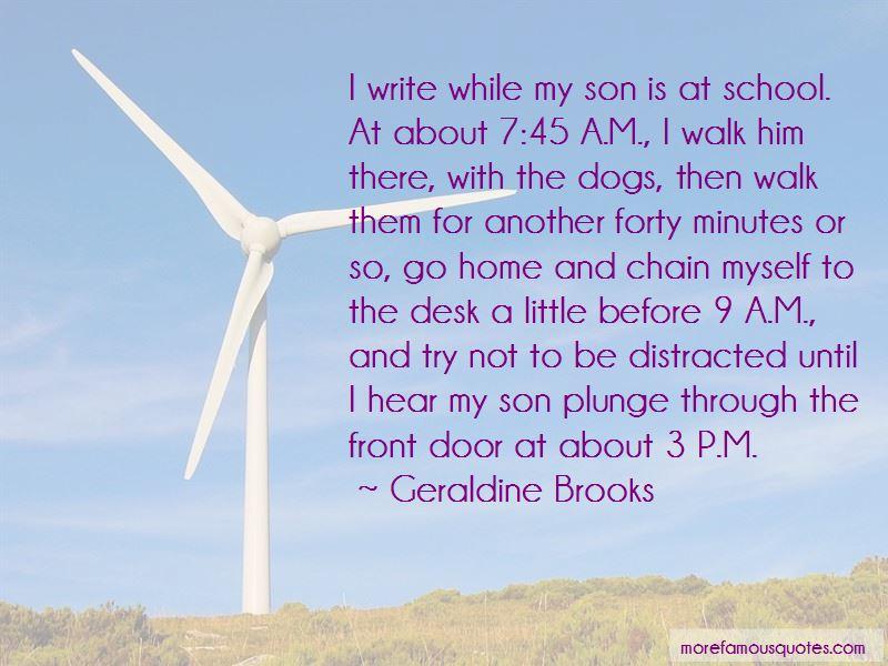 Geraldine Brooks Quotes