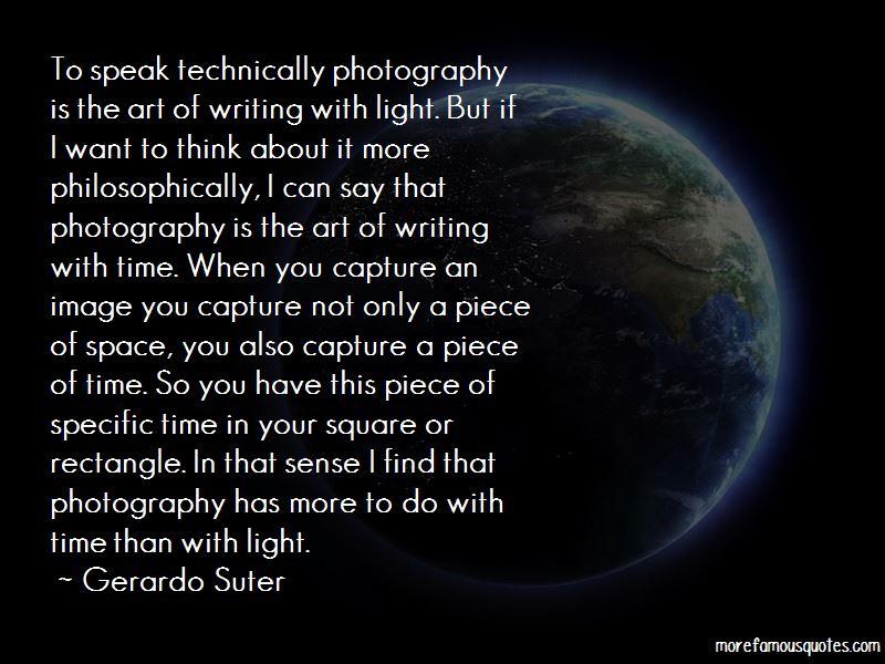 Gerardo Suter Quotes Pictures 3