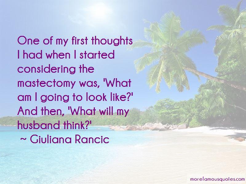 Giuliana Rancic Quotes
