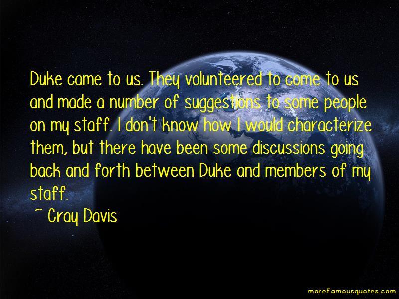 Gray Davis Quotes
