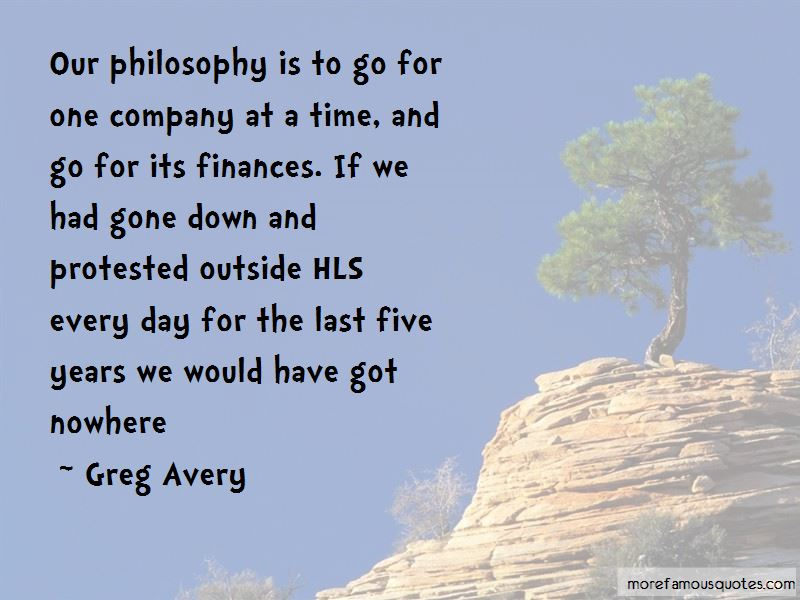 Greg Avery Quotes