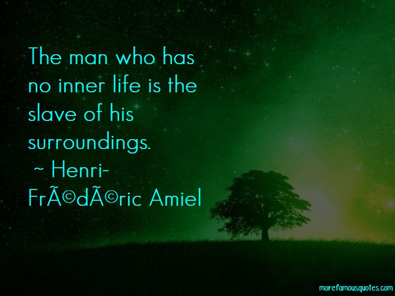 Henri-Frederic Amiel Quotes