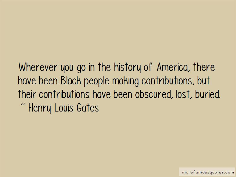 Henry Louis Gates Quotes