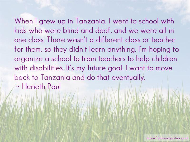 Herieth Paul Quotes