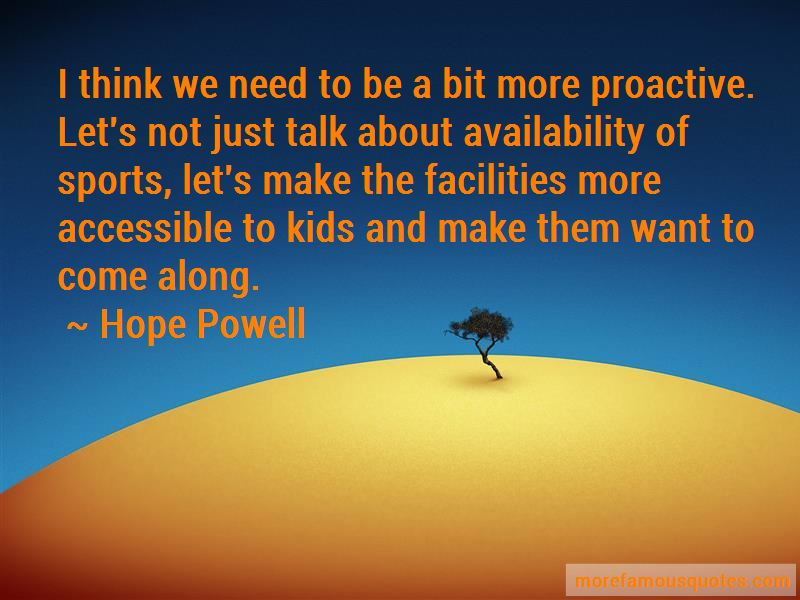 Hope Powell Quotes Pictures 2