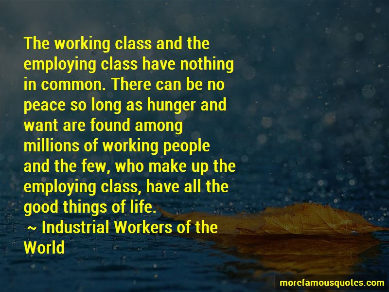 Industrial Workers Of The World Quotes