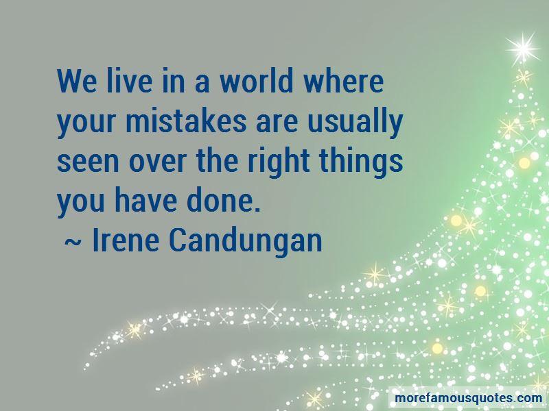 Irene Candungan Quotes