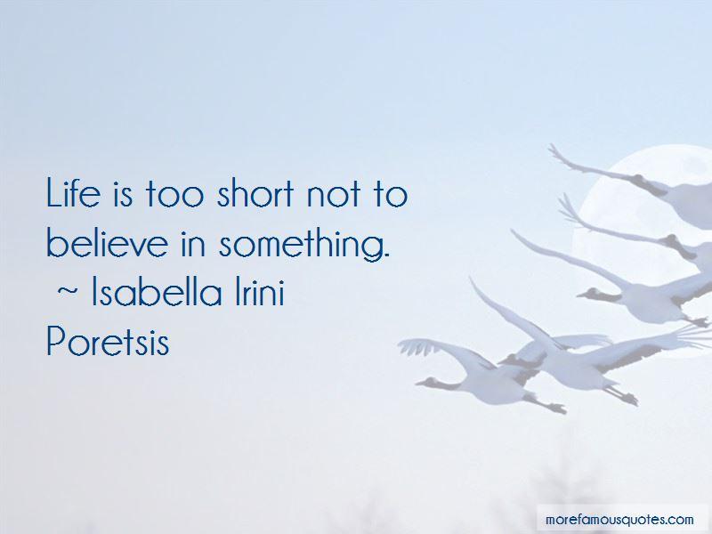 Isabella Irini Poretsis Quotes Pictures 2