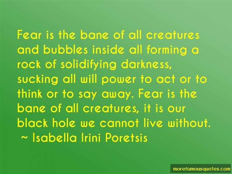 Isabella Irini Poretsis Quotes
