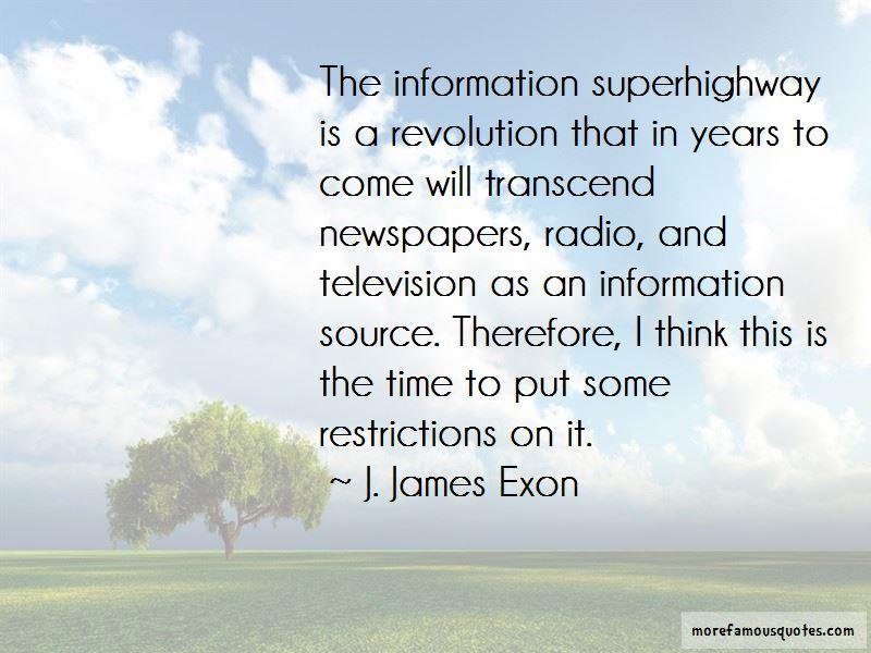J. James Exon Quotes