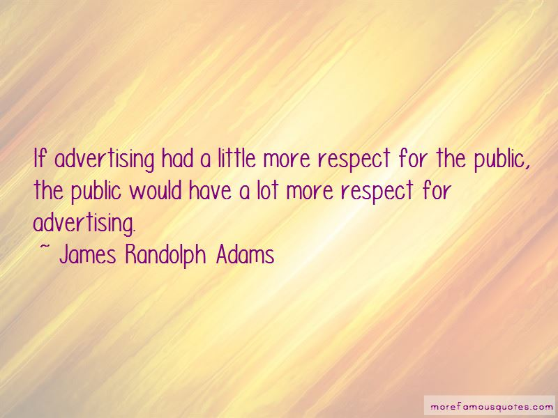 James Randolph Adams Quotes