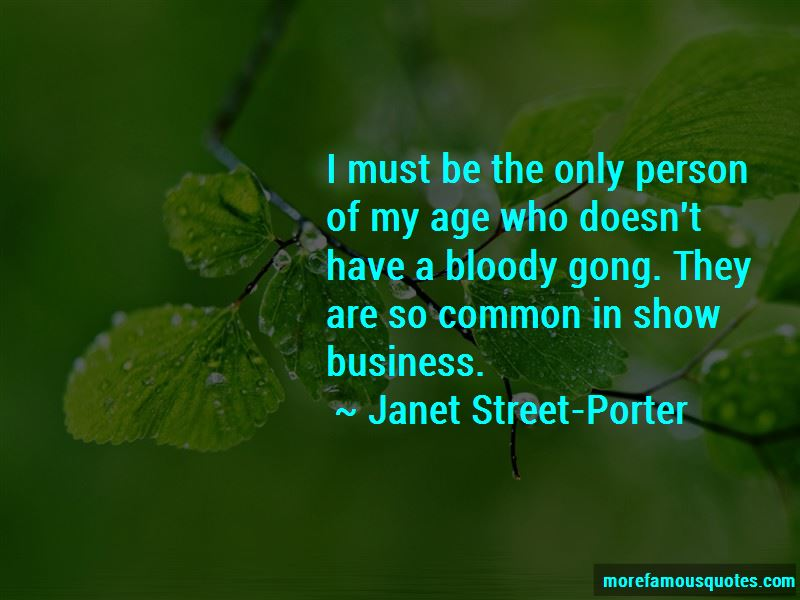 Janet Street-Porter Quotes Pictures 3