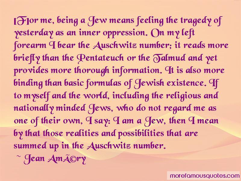 Jean-Amery Quotes