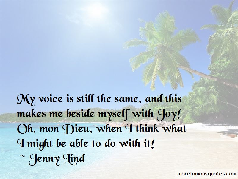 Jenny Lind Quotes
