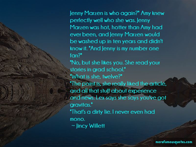 Jincy Willett Quotes Pictures 2