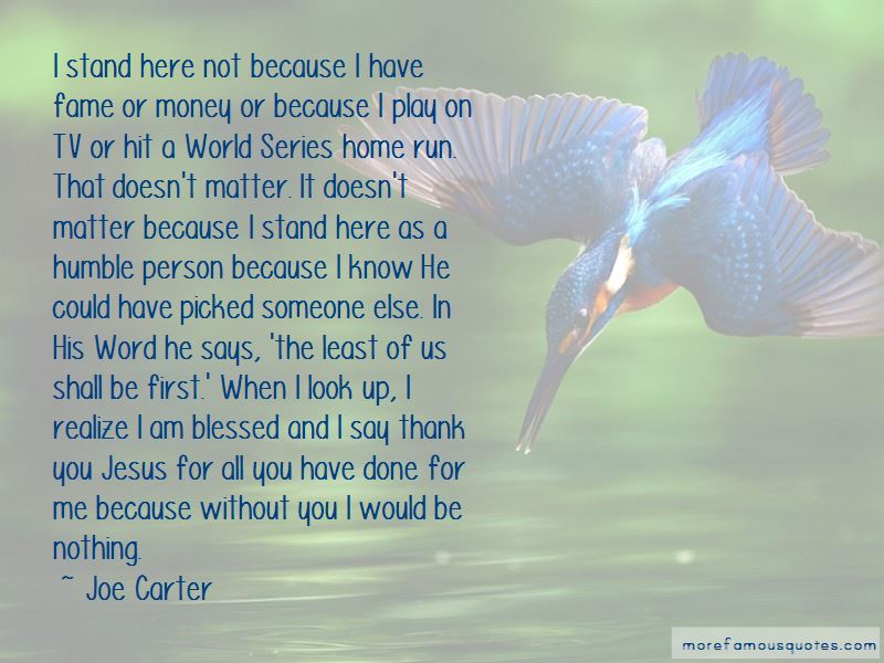 Joe Carter Quotes Pictures 4
