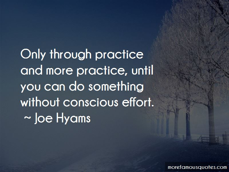 Joe Hyams Quotes Pictures 2