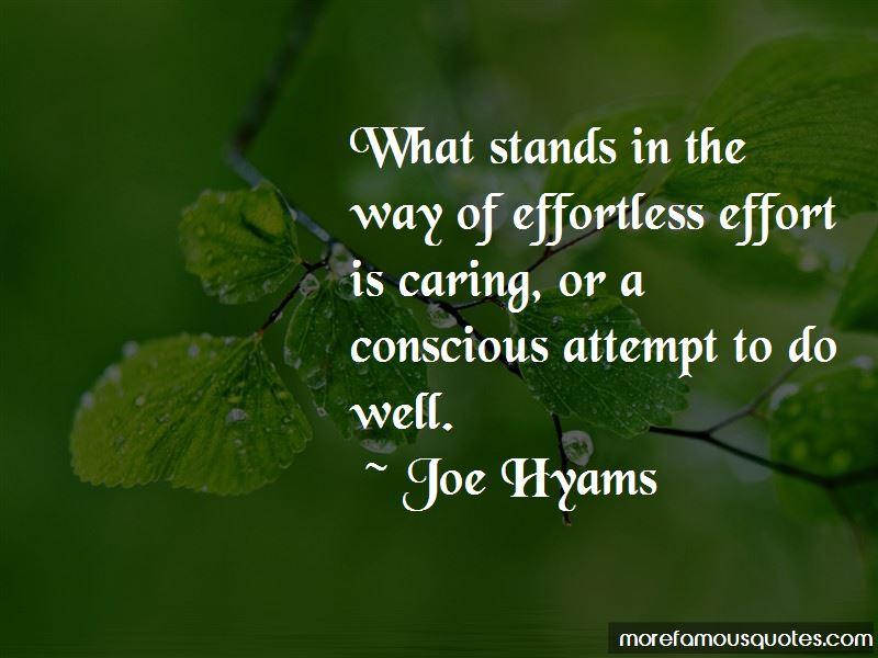 Joe Hyams Quotes