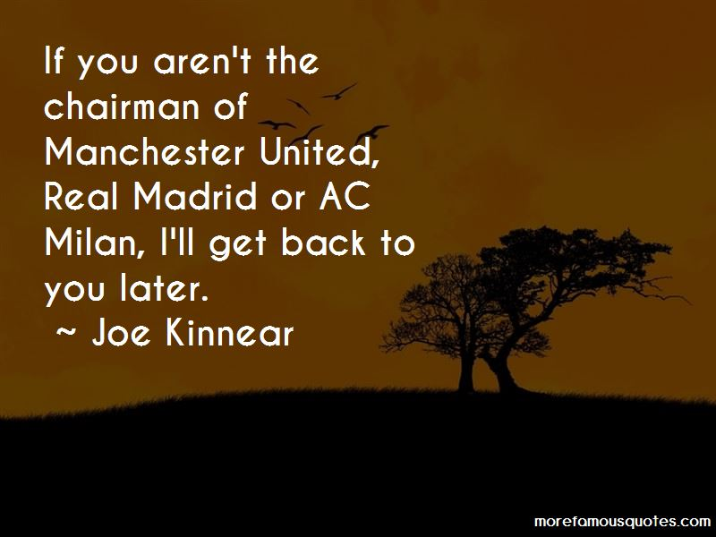 Joe Kinnear Quotes