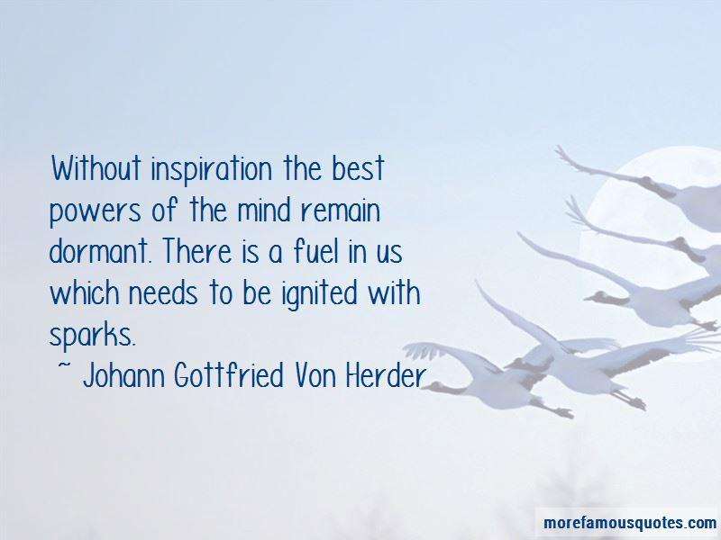 Johann Gottfried Von Herder Quotes