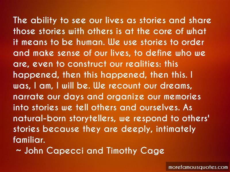 John Capecci And Timothy Cage Quotes Pictures 4