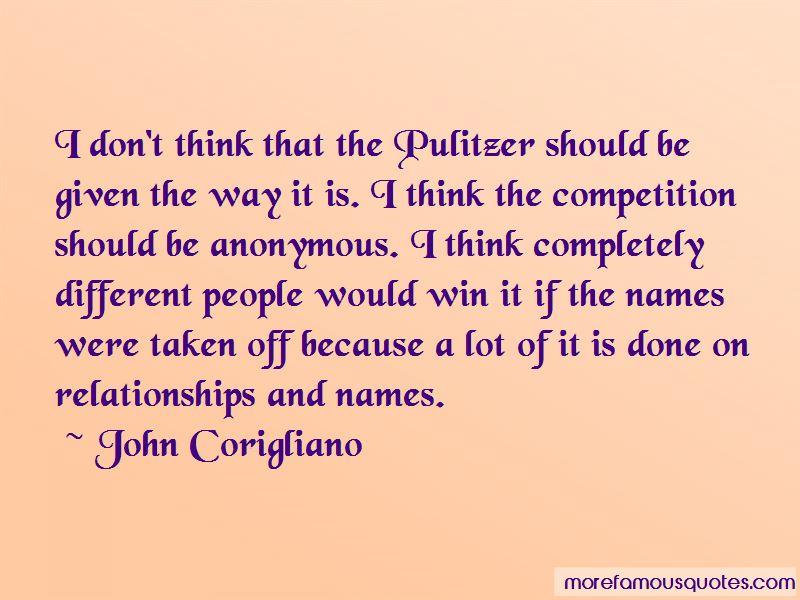 John Corigliano Quotes