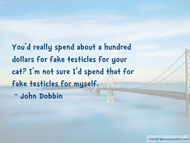 John Dobbin Quotes