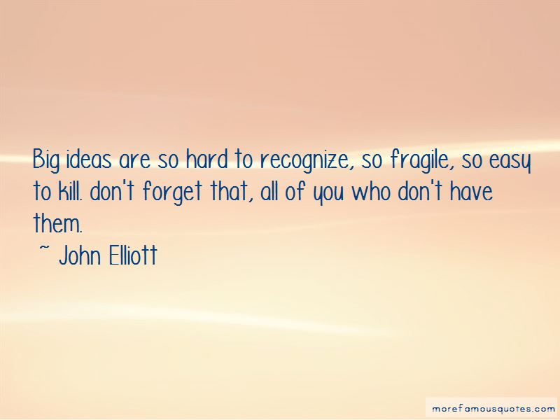 John Elliott Quotes