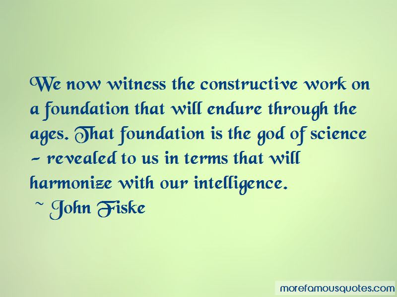 John Fiske Quotes Pictures 4