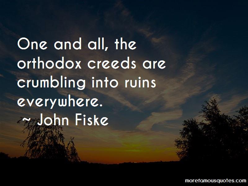 John Fiske Quotes
