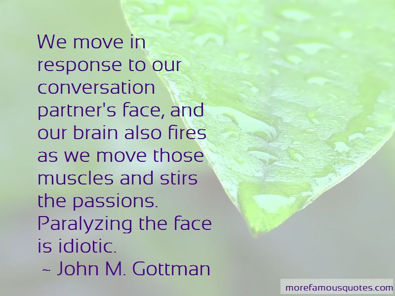 John M  Gottman quotes: top 15 famous quotes by John M  Gottman