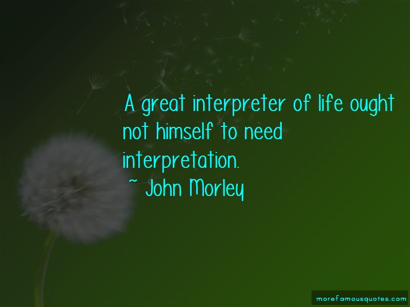 John Morley Quotes Pictures 3