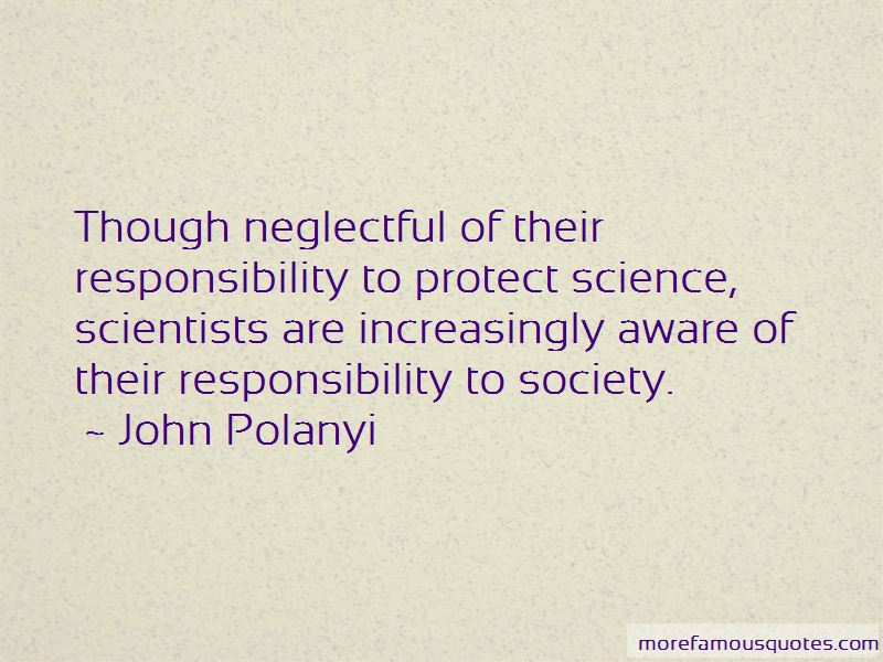 John Polanyi Quotes Pictures 4