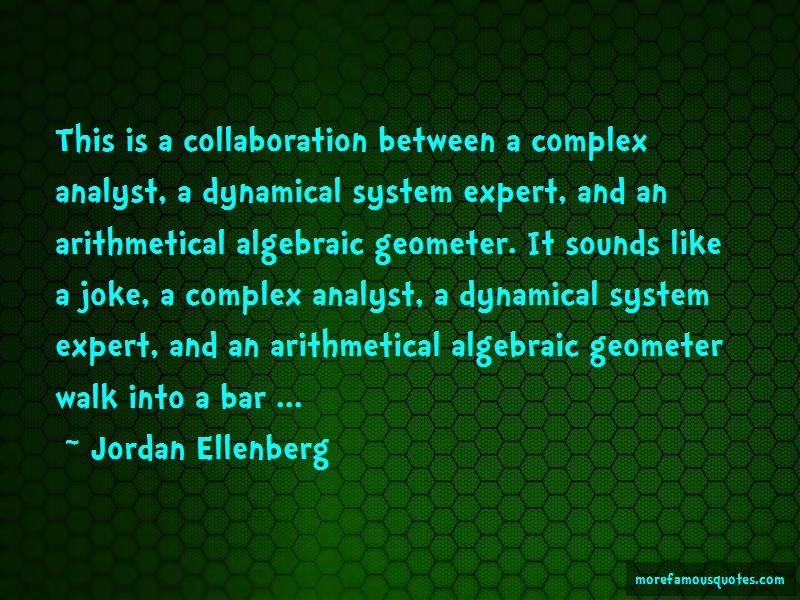 Jordan Ellenberg Quotes