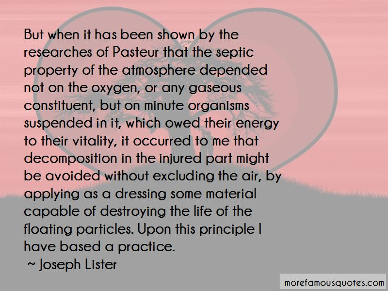 Joseph Lister Quotes Pictures 2