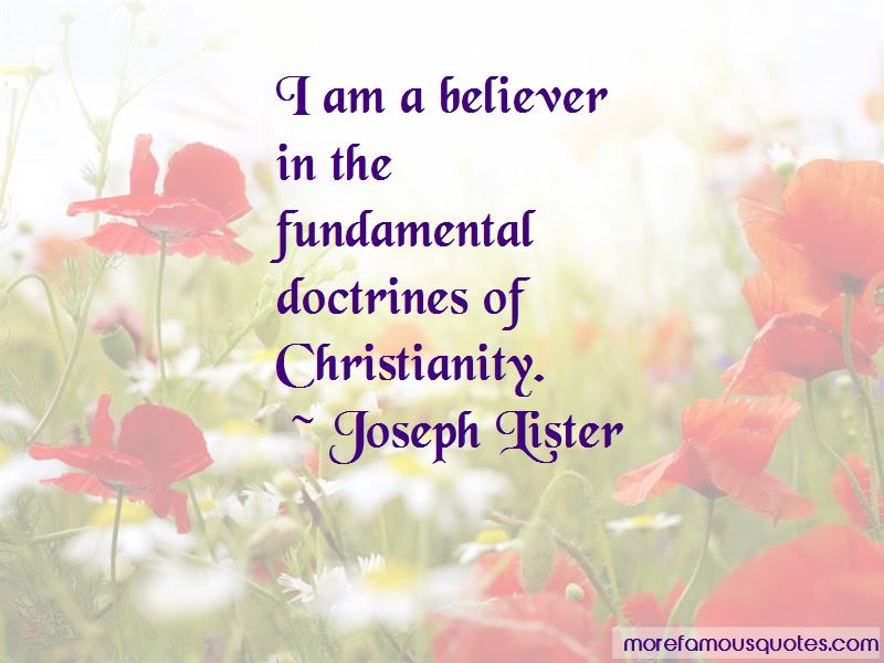 Joseph Lister Quotes