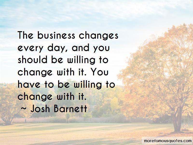 Josh Barnett Quotes