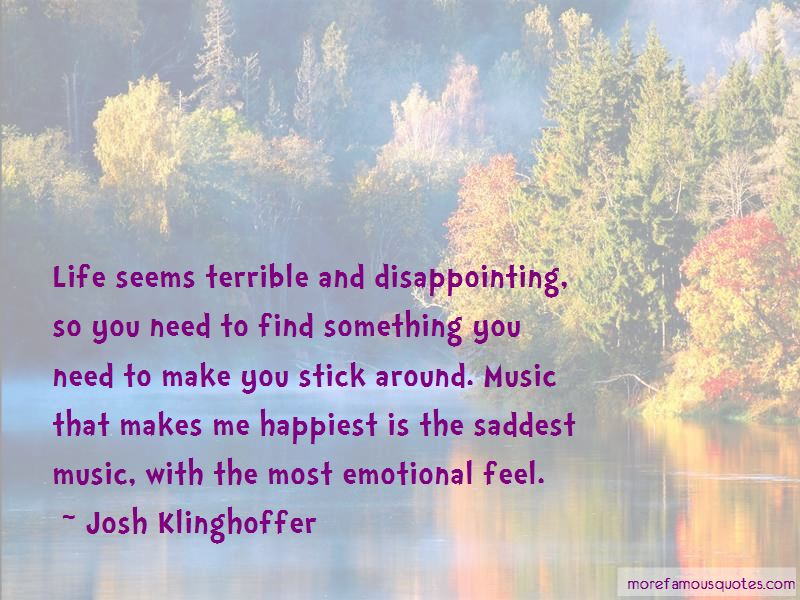 Josh Klinghoffer Quotes Pictures 2