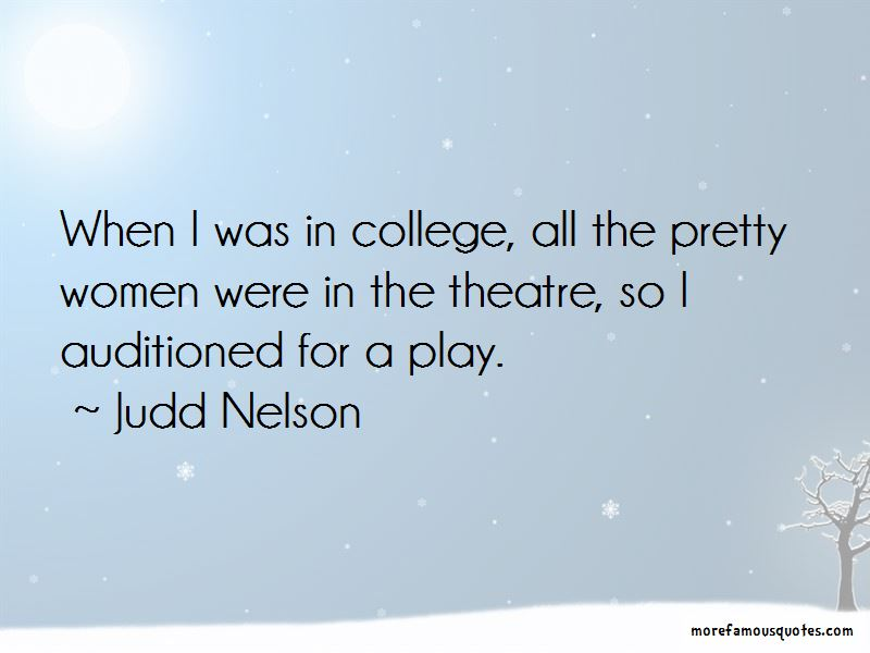 Judd Nelson Quotes