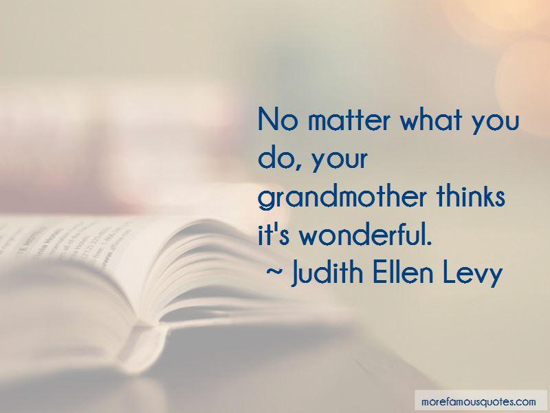 Judith Ellen Levy Quotes Pictures 2