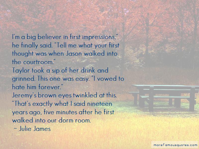 Julie James Quotes Pictures 2