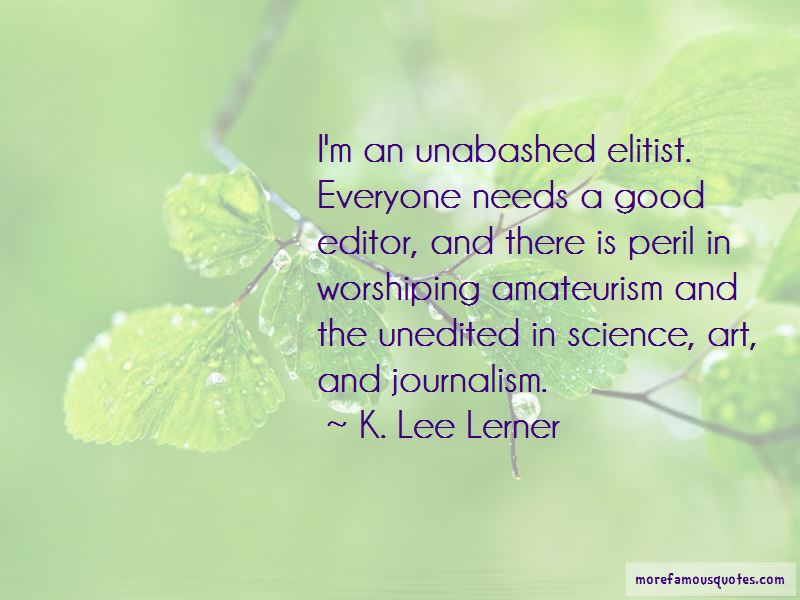 K. Lee Lerner Quotes Pictures 3