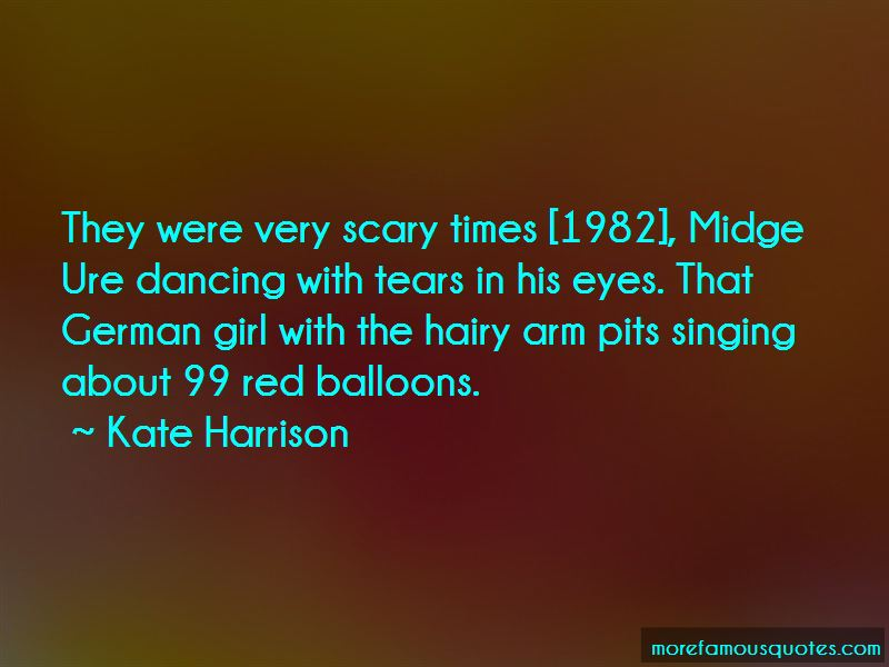 Kate Harrison Quotes