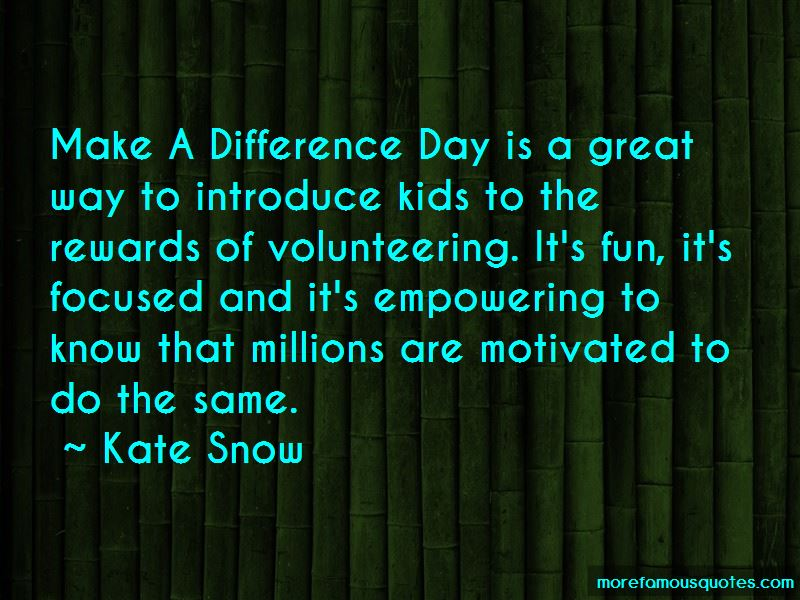 Kate Snow Quotes