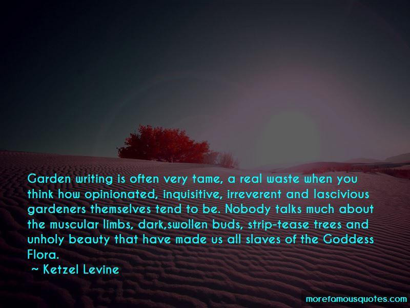 Ketzel Levine Quotes