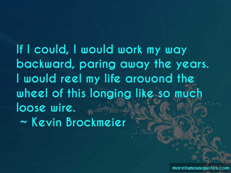 Kevin Brockmeier Quotes Pictures 2