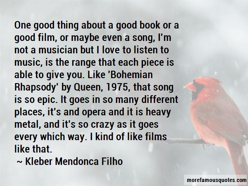 Kleber Mendonca Filho Quotes