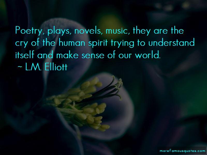 L.M. Elliott Quotes