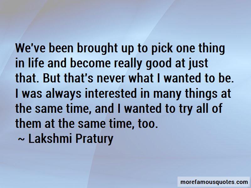 Lakshmi Pratury Quotes Pictures 2