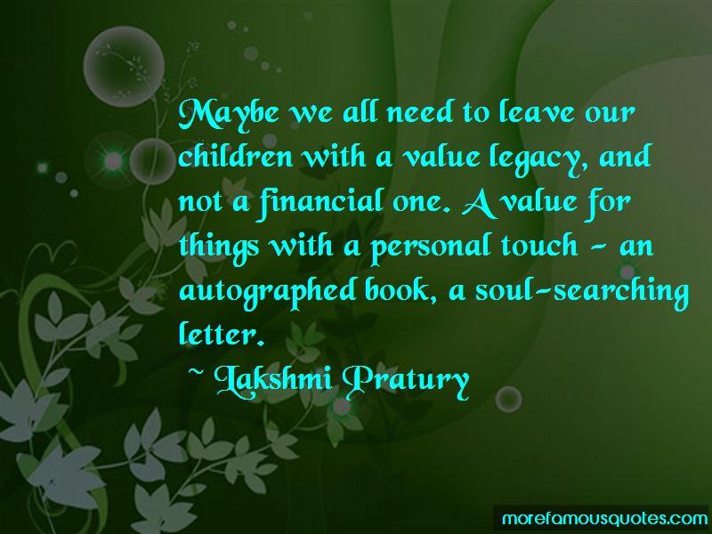 Lakshmi Pratury Quotes Pictures 3